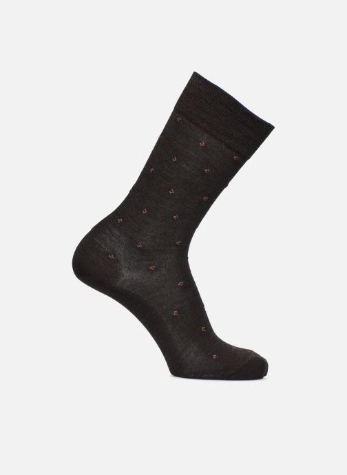 Socks & tights Sarenza Wear Socks Losanges Brown detailed view/ Pair view