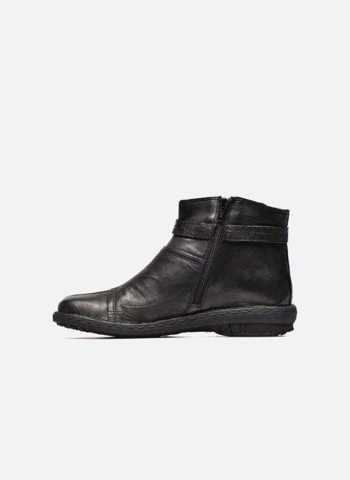 Bottines et boots Khrio Shadan Noir vue face