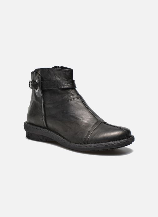 Ankle boots Khrio Shadan Black detailed view/ Pair view