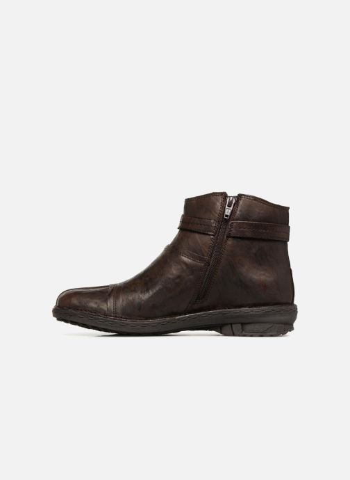 Boots en enkellaarsjes Khrio Shadan Bruin voorkant