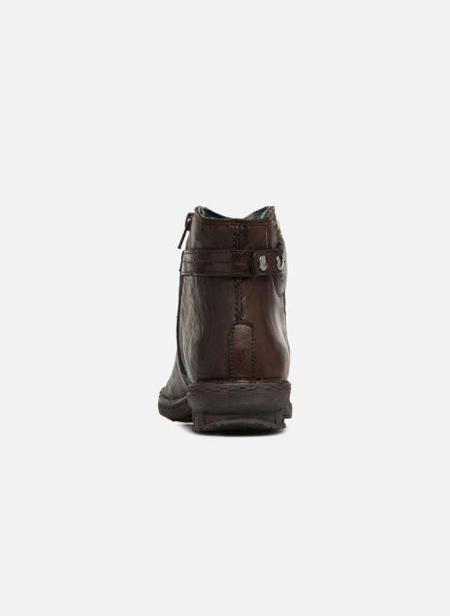 Boots en enkellaarsjes Khrio Shadan Bruin rechts