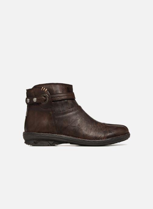 Boots en enkellaarsjes Khrio Shadan Bruin achterkant