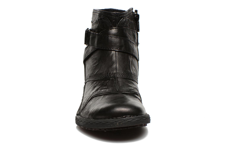 Bottines et boots Khrio Sabras Noir vue portées chaussures