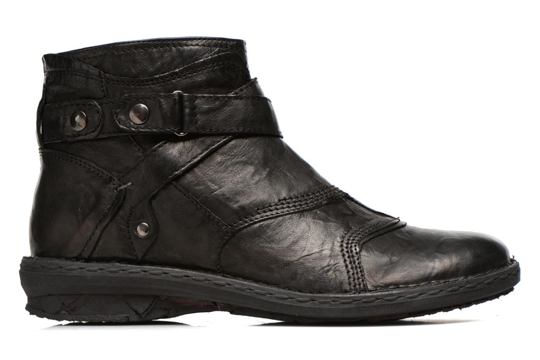 Bottines et boots Khrio Sabras Noir vue derrière