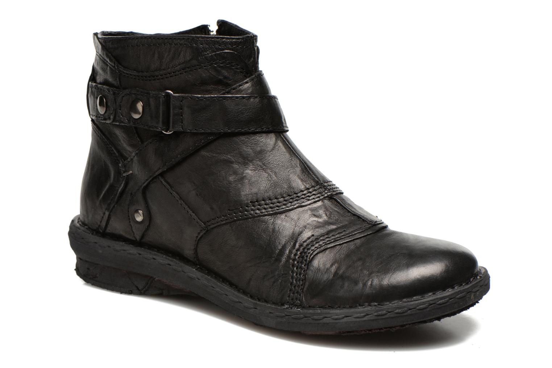 Bottines et boots Khrio Sabras Noir vue détail/paire