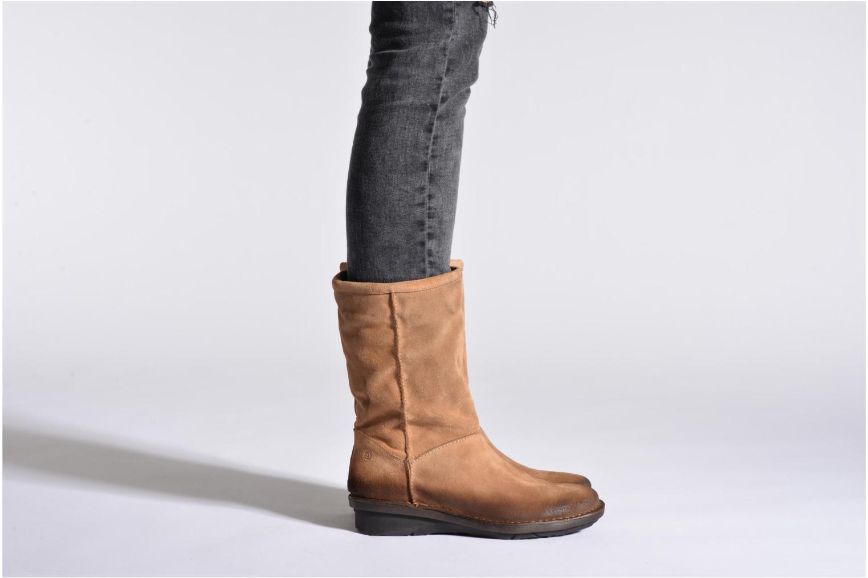 Bottines et boots Khrio Jacas Beige vue bas / vue portée sac