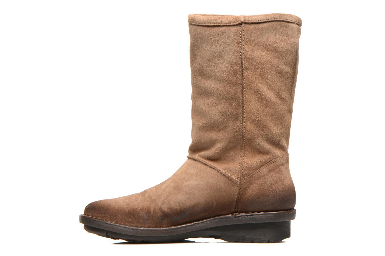 Bottines et boots Khrio Jacas Beige vue face