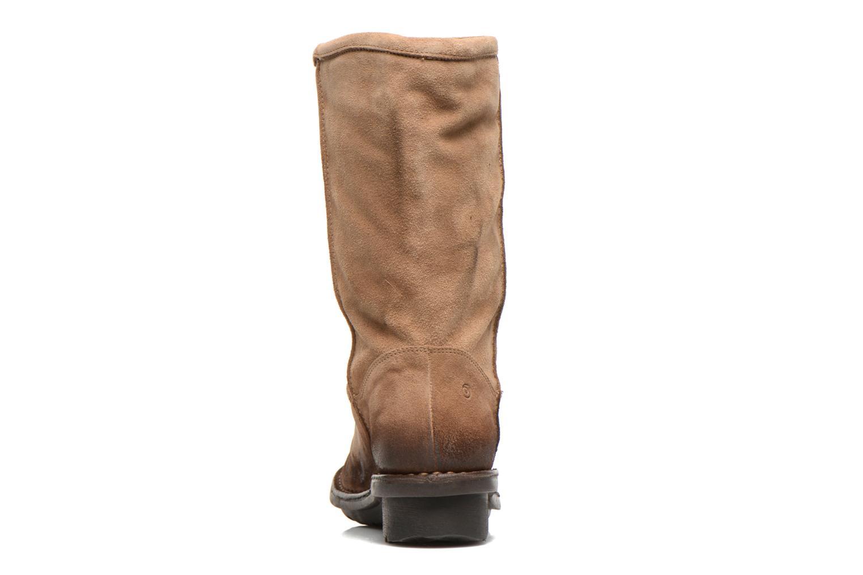 Bottines et boots Khrio Jacas Beige vue droite