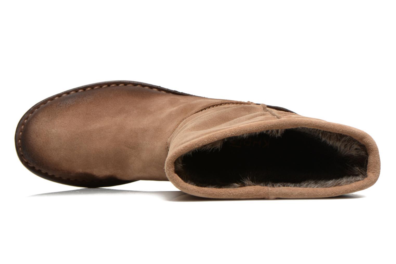 Bottines et boots Khrio Jacas Beige vue gauche