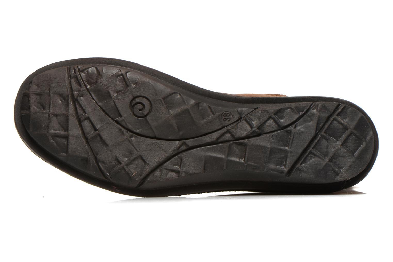 Bottines et boots Khrio Jacas Beige vue haut