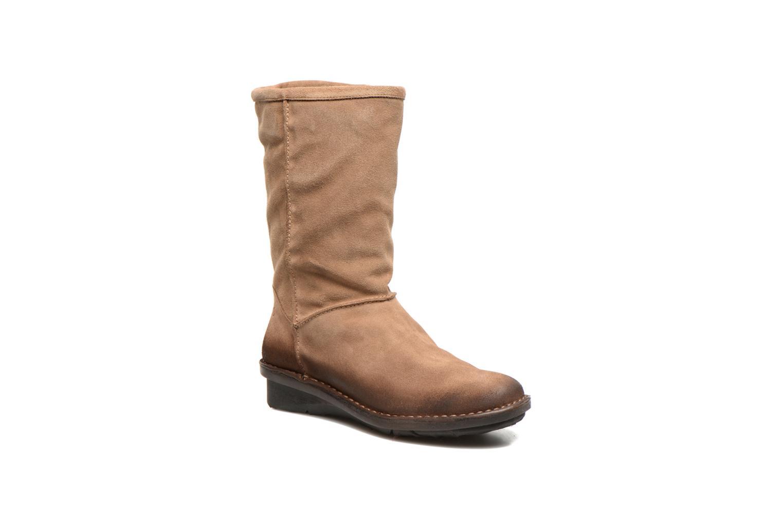 Bottines et boots Khrio Jacas Beige vue détail/paire