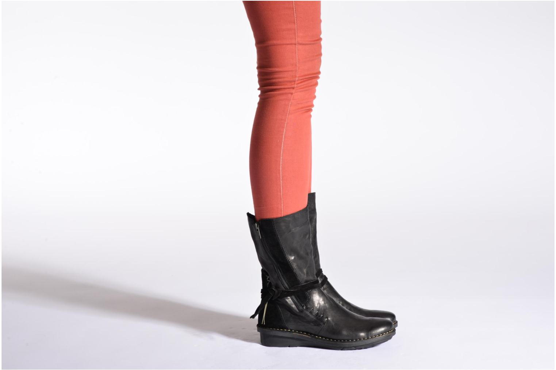 Bottines et boots Khrio Dibor Noir vue bas / vue portée sac