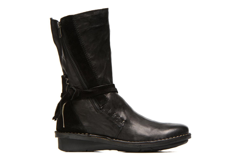 Bottines et boots Khrio Dibor Noir vue derrière