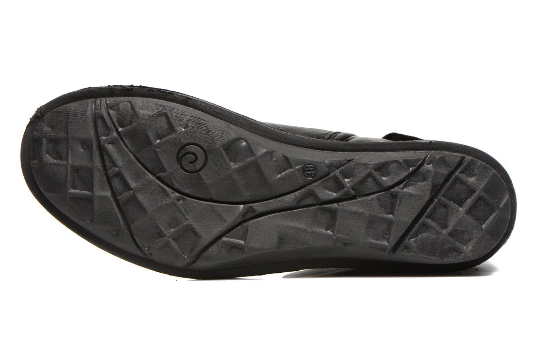 Bottines et boots Khrio Dibor Noir vue haut