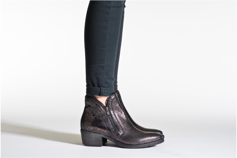 Bottines et boots Khrio Jamin Noir vue bas / vue portée sac