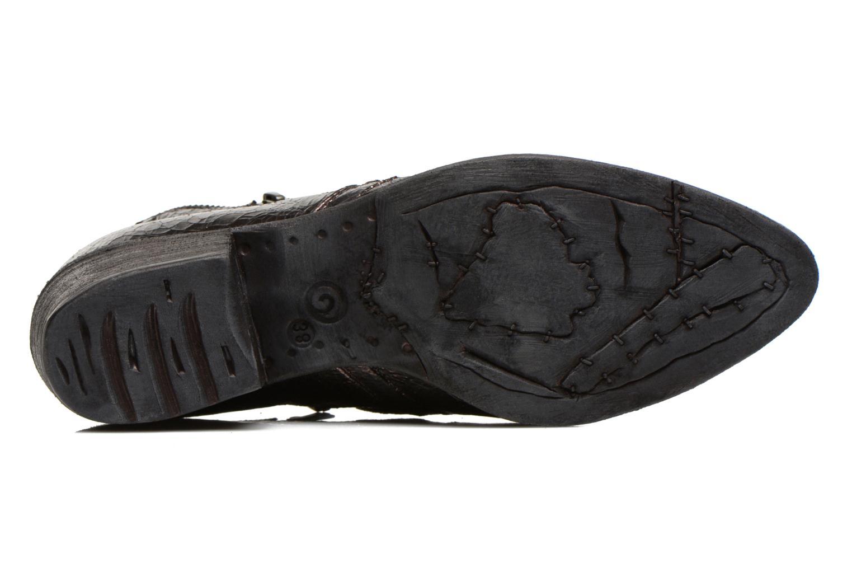 Bottines et boots Khrio Jamin Noir vue haut