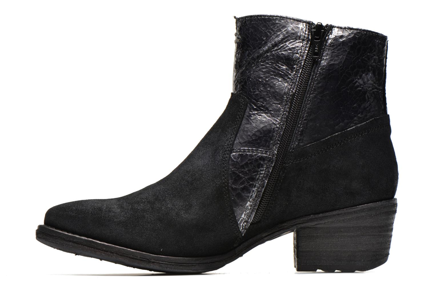 Ankle boots Khrio Heli Black front view