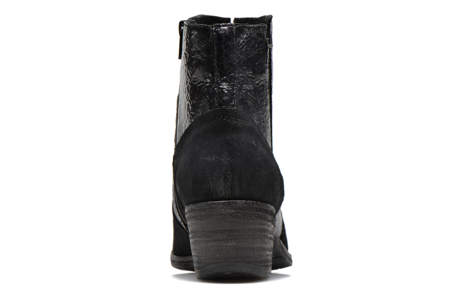 Ankle boots Khrio Heli Black view from the right