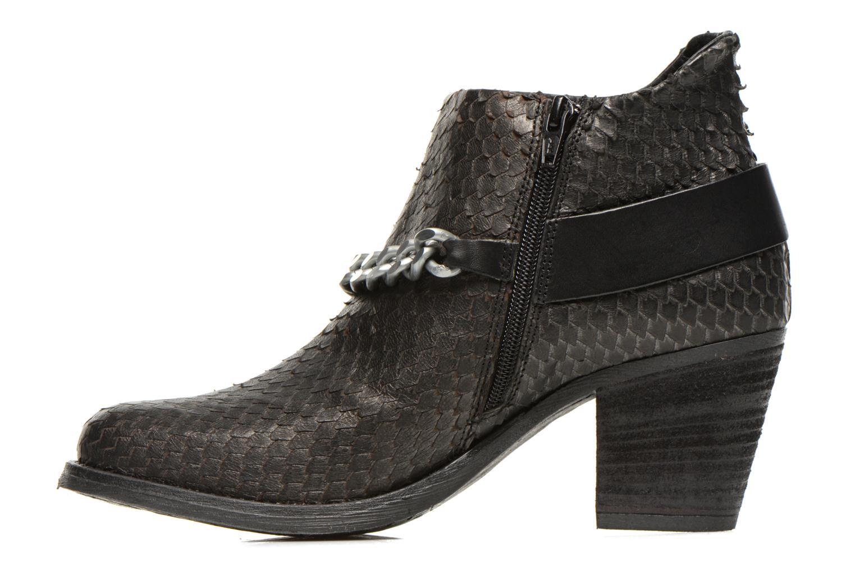 Bottines et boots Khrio Pito Noir vue face