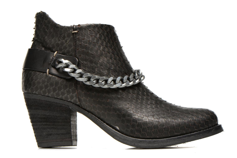 Boots en enkellaarsjes Khrio Pito Zwart achterkant
