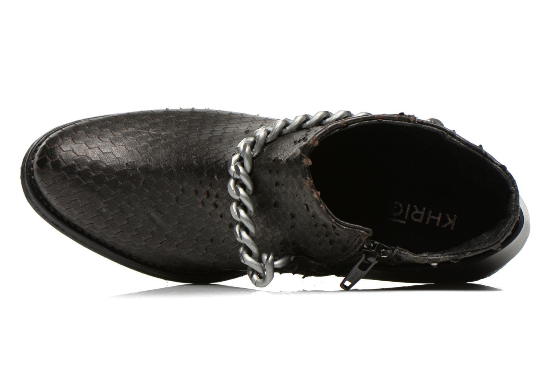 Bottines et boots Khrio Pito Noir vue gauche