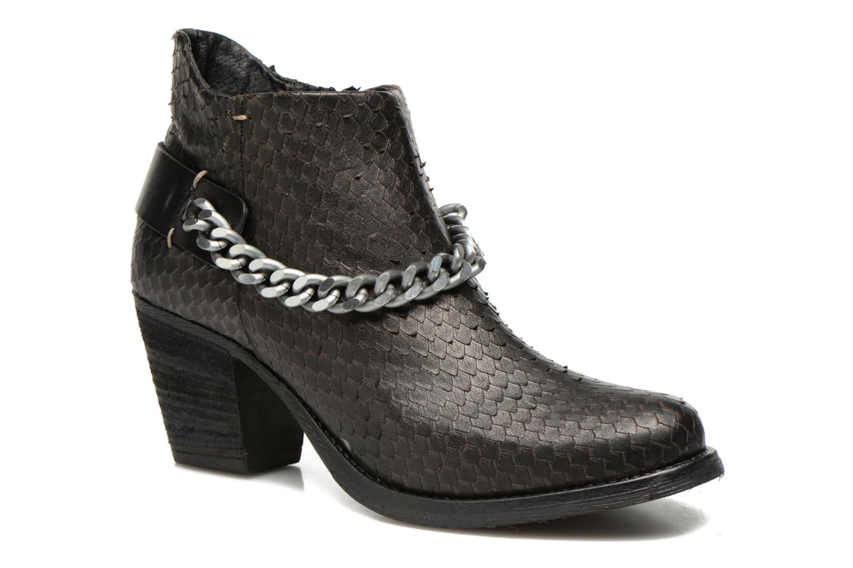 Boots en enkellaarsjes Khrio Pito Zwart detail