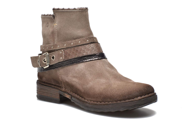 Bottines et boots Khrio Torel Marron vue détail/paire