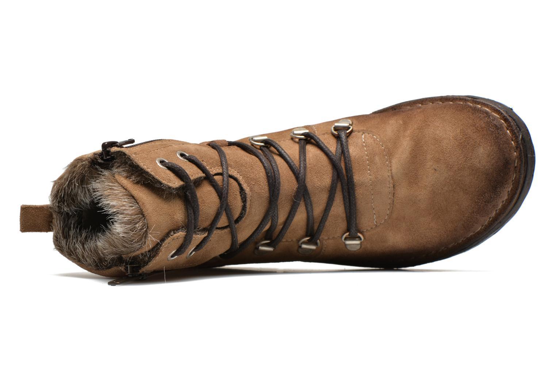 Bottines et boots Khrio Varos Beige vue gauche