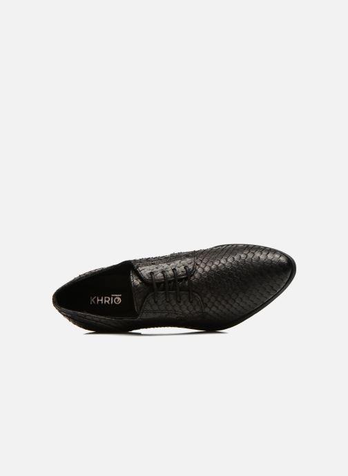 Chaussures à lacets Khrio Dosen Noir vue gauche