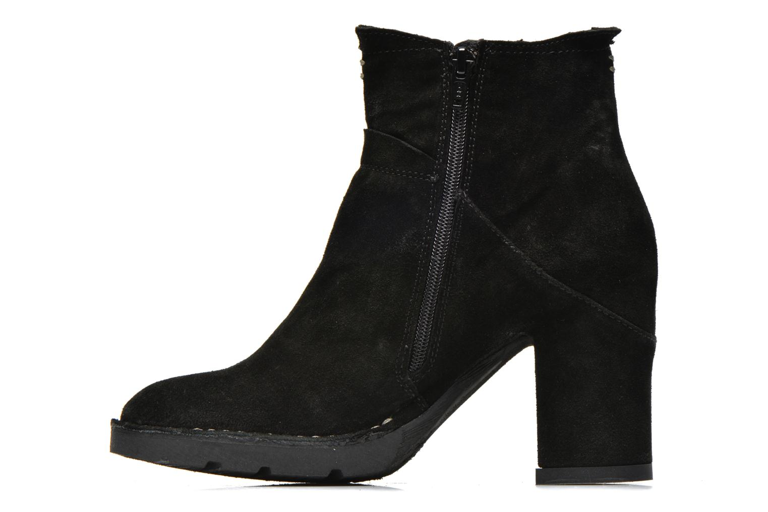 Ankle boots Khrio Amam Black front view