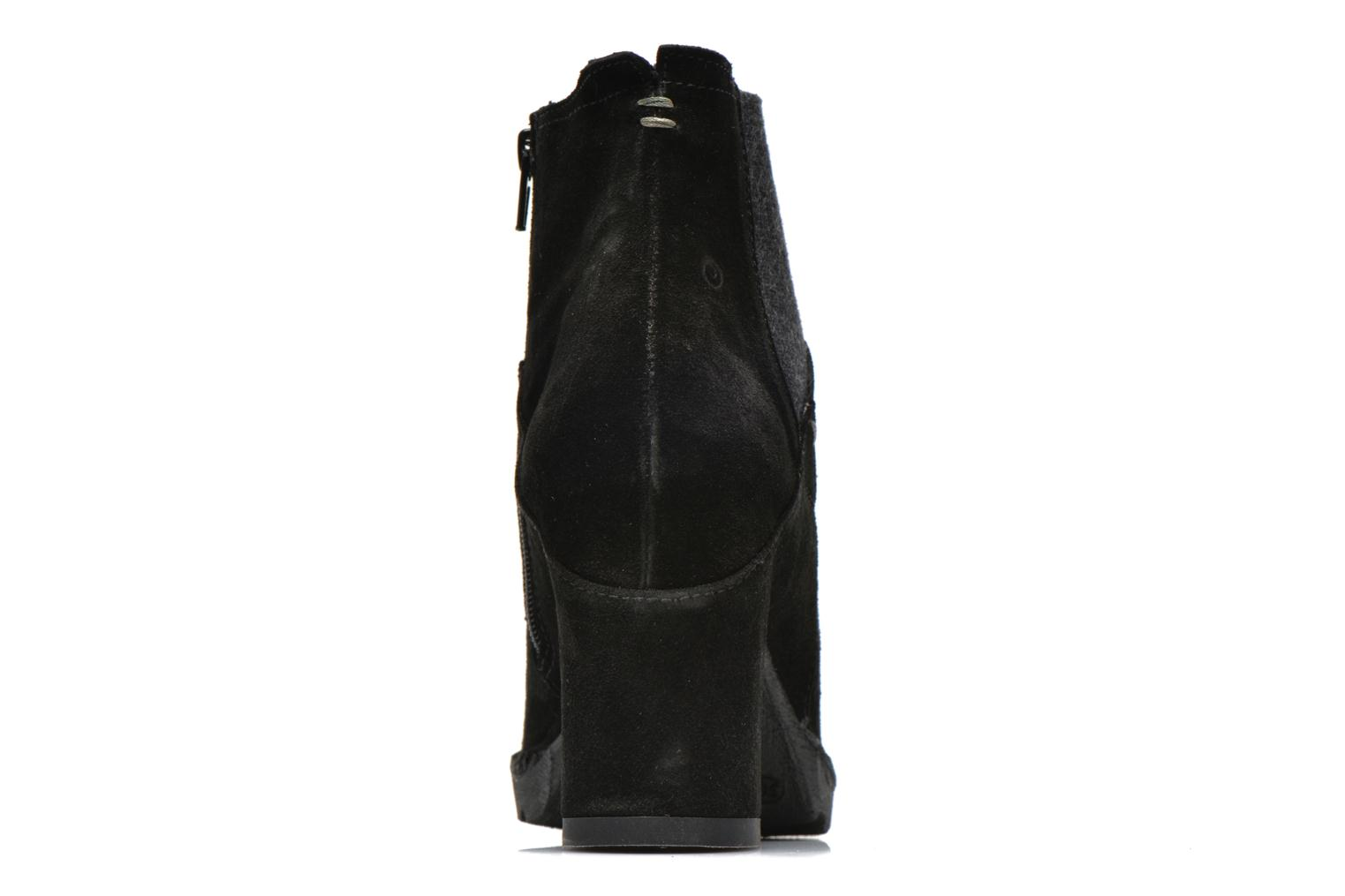 Ankle boots Khrio Amam Black view from the right