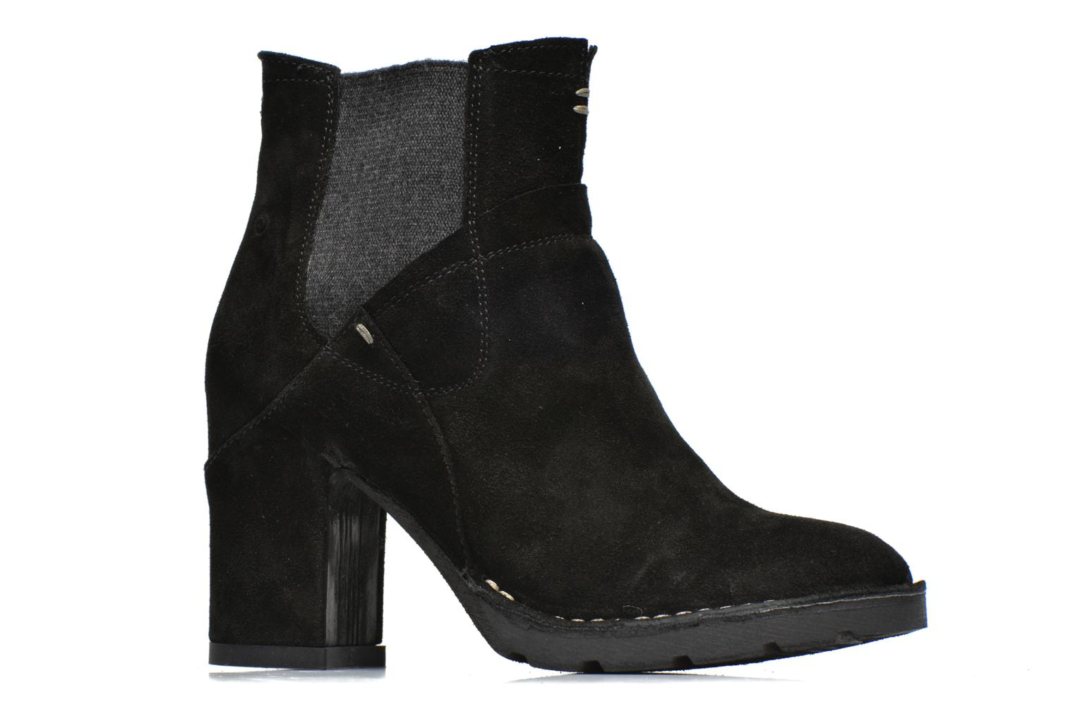 Ankle boots Khrio Amam Black back view