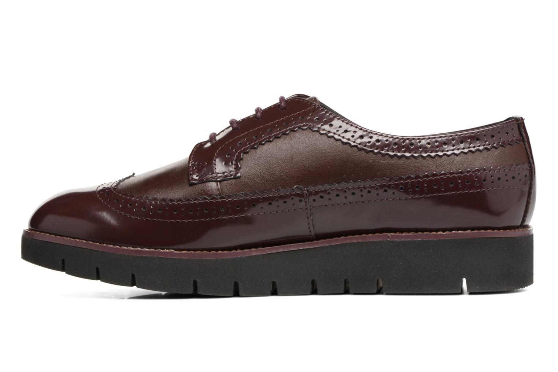 Chaussures à lacets Geox D BLENDA C D540BC Bordeaux vue face