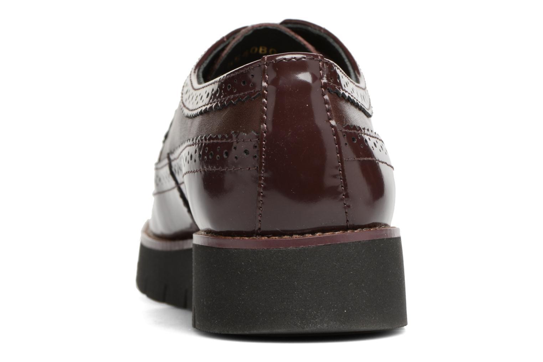 Chaussures à lacets Geox D BLENDA C D540BC Bordeaux vue droite