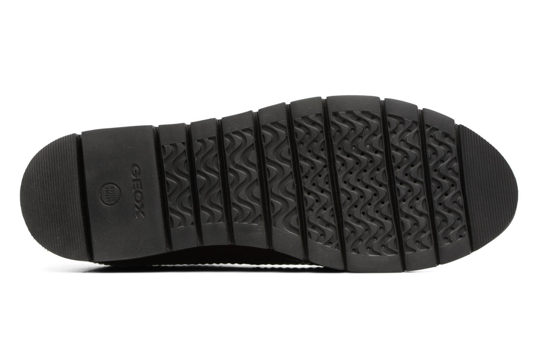 Chaussures à lacets Geox D BLENDA C D540BC Bordeaux vue haut
