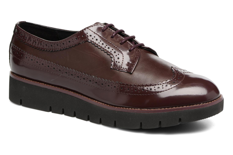 Chaussures à lacets Geox D BLENDA C D540BC Bordeaux vue détail/paire