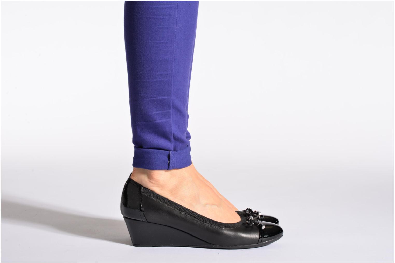 Zapatos de tacón Geox D FLORALIE A D54T4A Negro vista de abajo