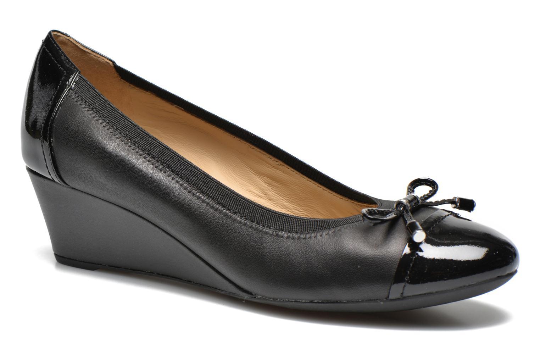 Zapatos de tacón Geox D FLORALIE A D54T4A Negro vista de detalle / par