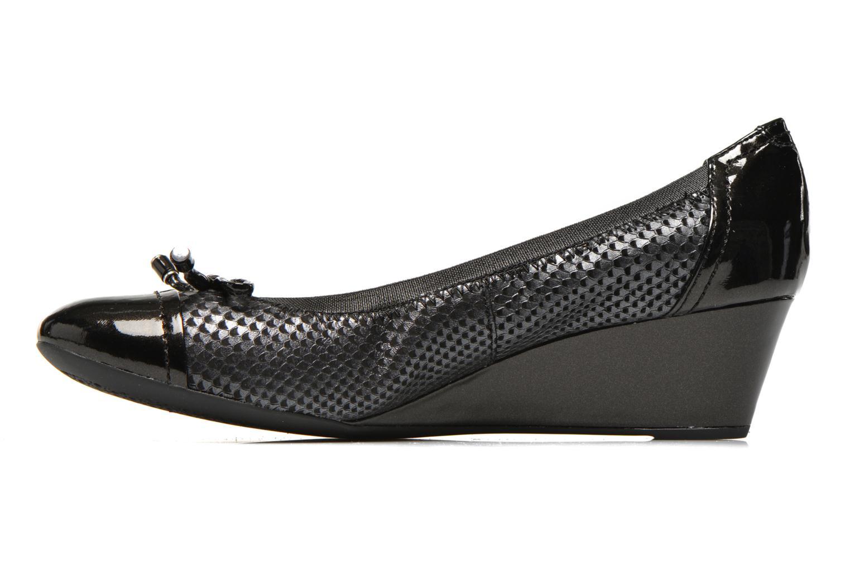 High heels Geox D FLORALIE A D54T4A Black front view