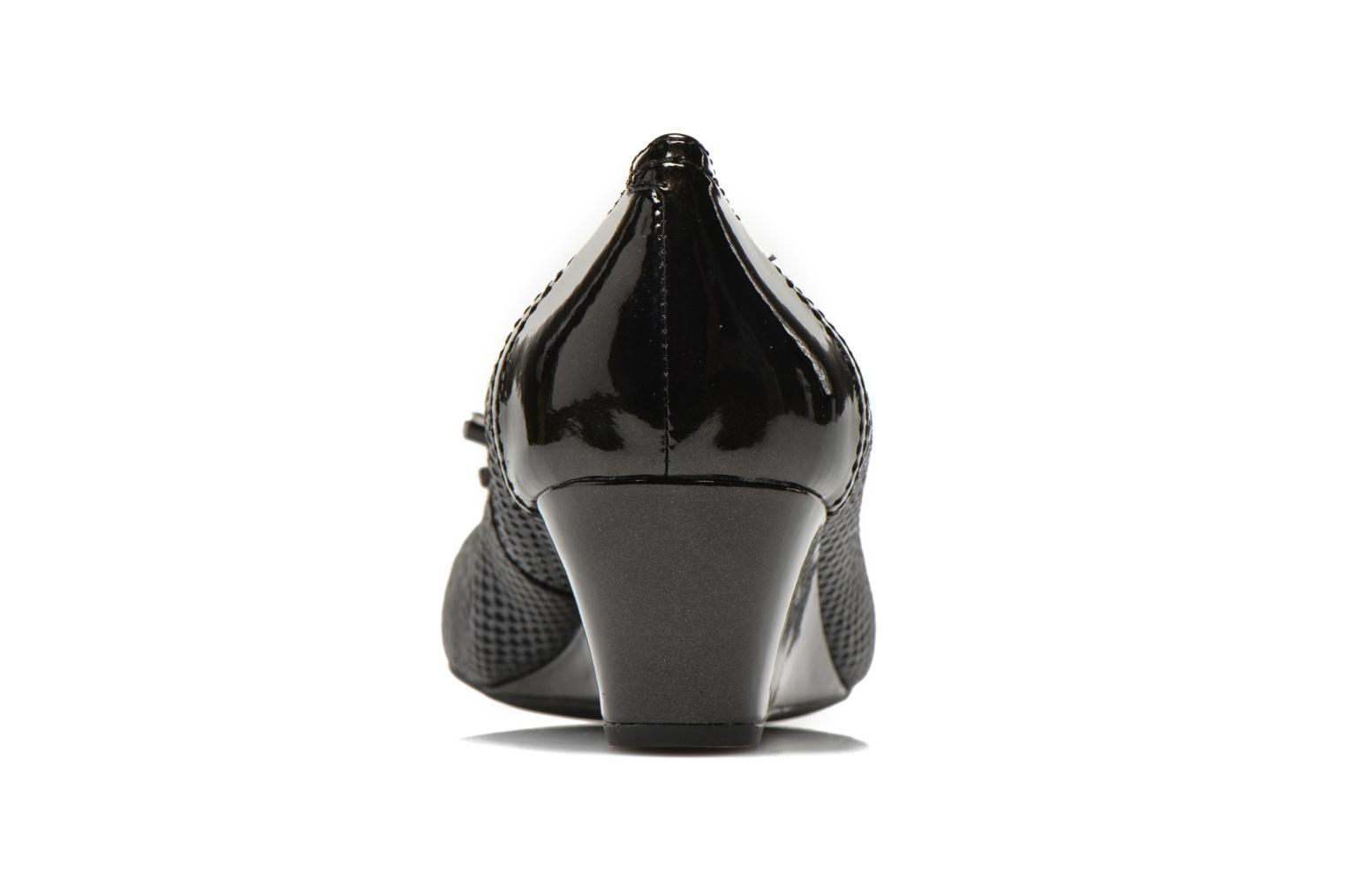 High heels Geox D FLORALIE A D54T4A Black view from the right