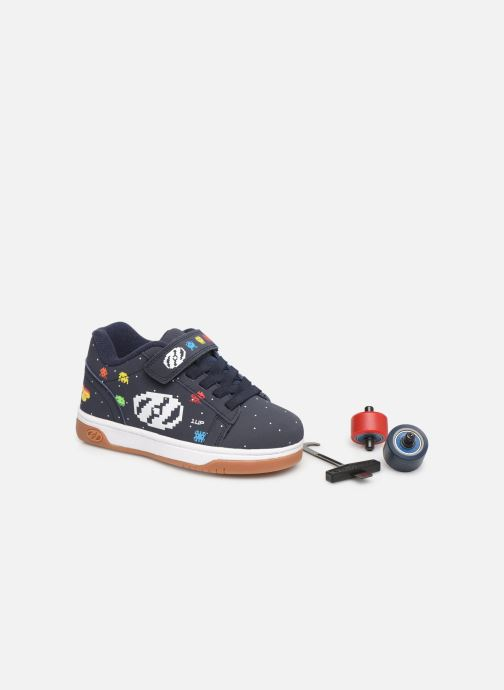 Trainers Heelys Dual Up X2 Blue 3/4 view