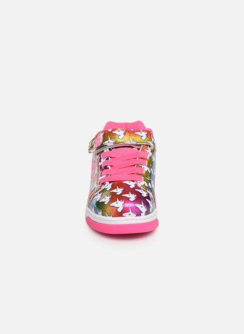 Baskets Heelys Dual Up X2 Rose vue portées chaussures