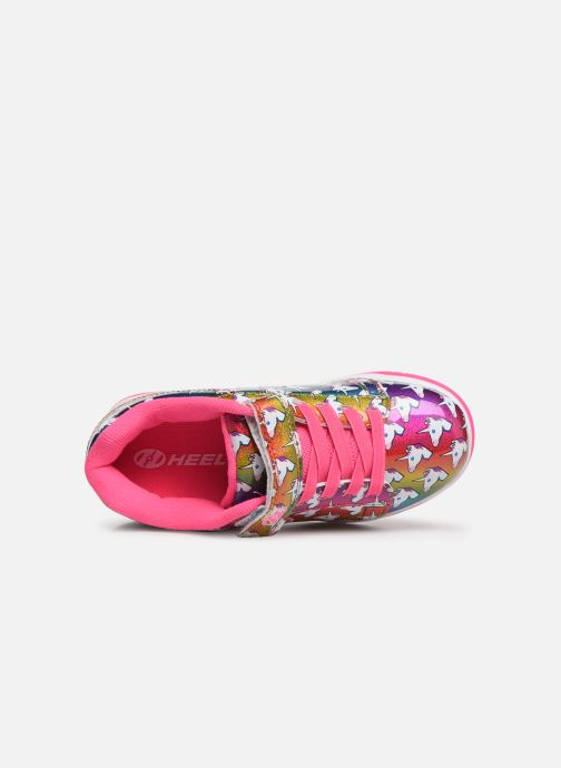 Baskets Heelys Dual Up X2 Rose vue gauche