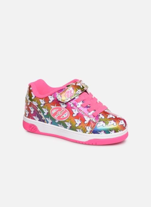 Baskets Heelys Dual Up X2 Rose vue détail/paire