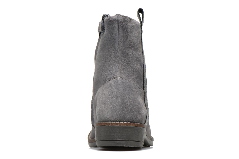 Bottines et boots Minibel Julie Gris vue droite