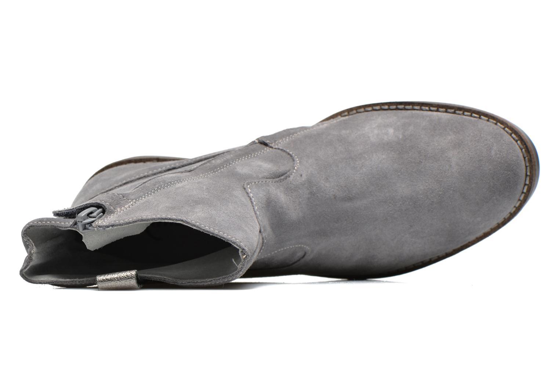 Bottines et boots Minibel Julie Gris vue gauche