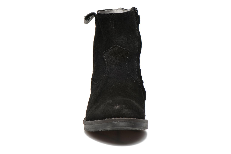 Bottines et boots Minibel Julie Noir vue portées chaussures
