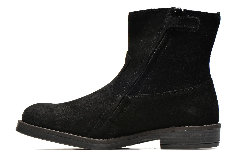 Bottines et boots Minibel Julie Noir vue face