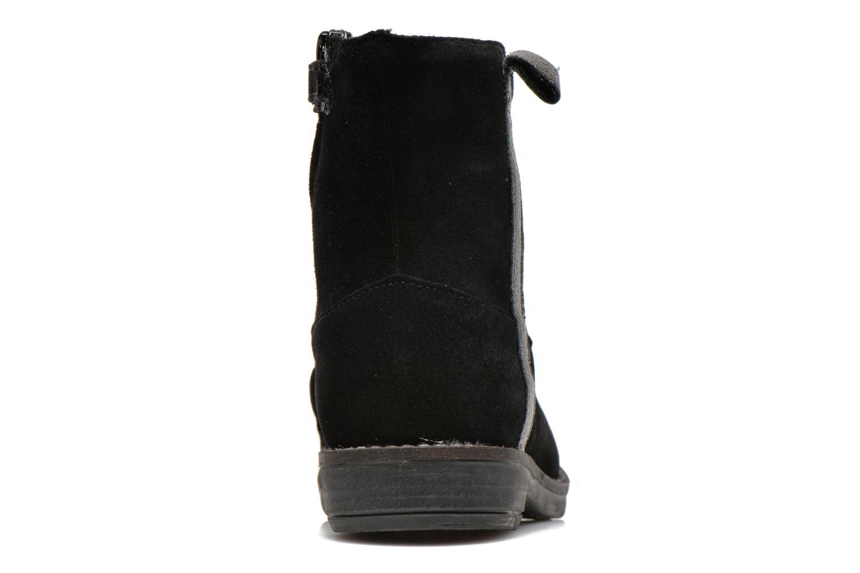 Bottines et boots Minibel Julie Noir vue droite