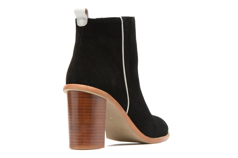 Bottines et boots Made by SARENZA Western Fever #5 Noir vue face